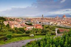 佛罗伦萨全景 库存照片