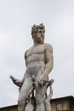 佛罗伦萨喷泉意大利海王星 免版税库存图片