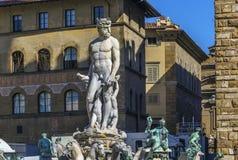 佛罗伦萨喷泉海王星 图库摄影