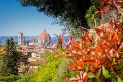佛罗伦萨圆顶,意大利 图库摄影
