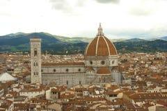 佛罗伦萨圆顶 库存图片