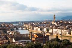 佛罗伦萨在意大利 免版税图库摄影