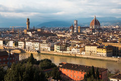 佛罗伦萨在意大利 库存图片