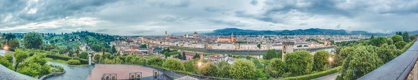 佛罗伦萨地平线在意大利 免版税库存照片