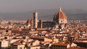 佛罗伦萨地平线夏天日落视图 影视素材