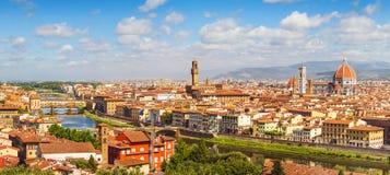 佛罗伦萨地平线(意大利,托斯卡纳) 图库摄影