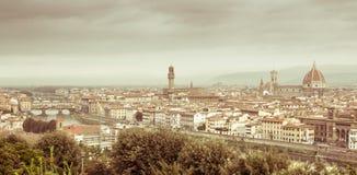 佛罗伦萨地平线 图库摄影