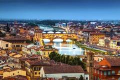 佛罗伦萨地平线 免版税库存照片