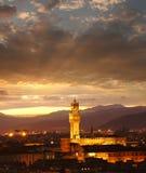 佛罗伦萨大教堂在平衡的意大利 库存照片
