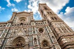 佛罗伦萨大教堂在意大利 免版税库存照片