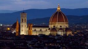 佛罗伦萨大教堂大教堂二圣玛丽亚del菲奥雷 免版税库存照片