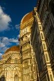 佛罗伦萨大教堂或Cattedrale二圣玛丽亚del菲奥雷 免版税图库摄影