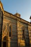佛罗伦萨大教堂或Cattedrale二圣玛丽亚del菲奥雷 免版税库存照片