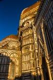 佛罗伦萨大教堂或Cattedrale二圣玛丽亚del菲奥雷 库存照片