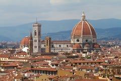 佛罗伦萨大教堂,托斯卡纳,意大利 免版税库存图片
