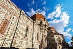 佛罗伦萨大教堂-托斯卡纳意大利 免版税库存图片