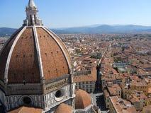 佛罗伦萨大教堂/Catterdrale二圣玛丽亚del菲奥雷,佛罗伦萨 库存图片