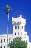 佛罗伦萨宫殿海德公园历史的区,坦帕,佛罗里达位于 免版税库存图片