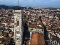 佛罗伦萨屋顶。 免版税库存照片