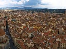 佛罗伦萨屋顶 免版税库存照片