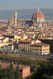 佛罗伦萨市中心 免版税库存图片