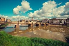 佛罗伦萨市看法  免版税库存图片