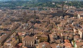 佛罗伦萨市,意大利街道  免版税库存图片
