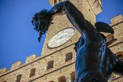 佛罗伦萨广场-佛罗伦萨-意大利 库存照片