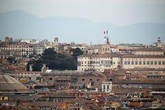 佛罗伦萨开头全景从钟楼塔的 免版税库存图片