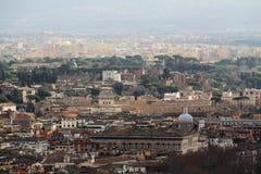 佛罗伦萨开头全景从钟楼塔的 库存图片