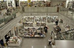 佛罗伦萨意大利另外角度的图书馆商店 免版税库存照片