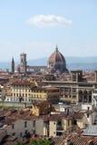 佛罗伦萨意大利地平线托斯卡纳 免版税库存照片