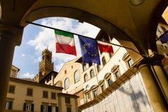 佛罗伦萨意大利场面街道 免版税库存图片