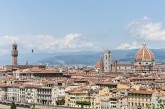 佛罗伦萨意大利米开朗基罗piazzale 免版税库存照片
