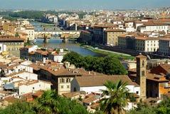 佛罗伦萨意大利视图 库存图片
