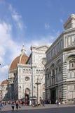 佛罗伦萨意大利 佛罗伦萨洗礼池 库存图片