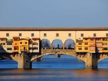 佛罗伦萨意大利ponte vecchio 免版税库存照片