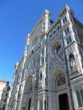 佛罗伦萨托斯卡纳意大利,佛罗伦萨中央寺院大教堂Cattedrale圣玛丽亚del菲奥雷,花的圣玛丽大教堂  库存图片