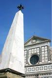 佛罗伦萨方尖碑乌龟 库存图片