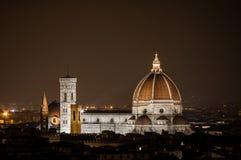 佛罗伦萨晚上 免版税库存图片