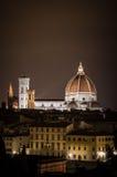 佛罗伦萨晚上 图库摄影