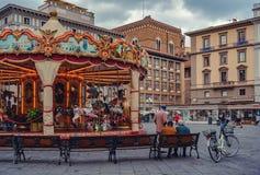 佛罗伦萨正方形 免版税图库摄影