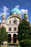佛罗伦萨犹太教堂 图库摄影