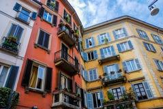 佛罗伦萨的颜色 库存照片