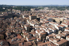 佛罗伦萨红色屋顶 免版税图库摄影