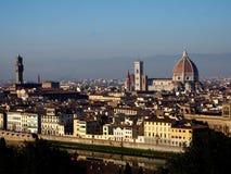 佛罗伦萨纪念碑全景  免版税库存照片