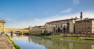 佛罗伦萨老桥梁, 库存图片