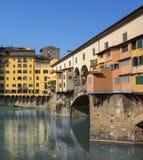 佛罗伦萨老桥梁, 库存照片