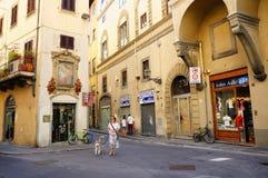 佛罗伦萨街道视图 免版税库存图片