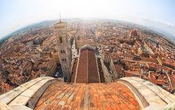 佛罗伦萨视图,意大利 免版税库存图片